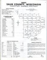 Index Map, Sauk County 1983
